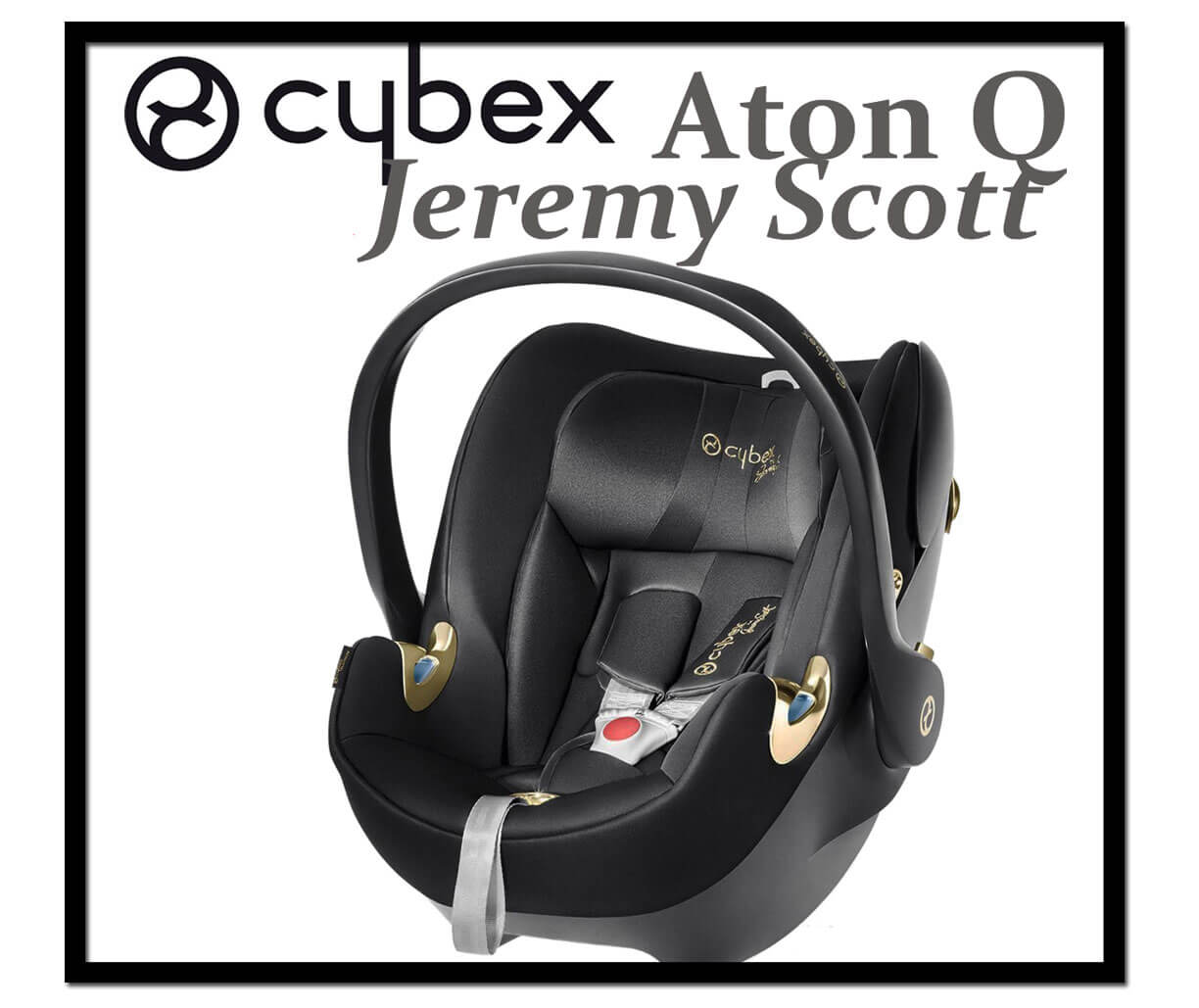 cybex aton q by Jeremy Scott